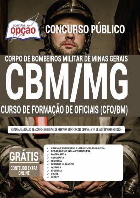 Apostila Concurso Bombeiro MG 2020 PDF Edital Online Inscrições