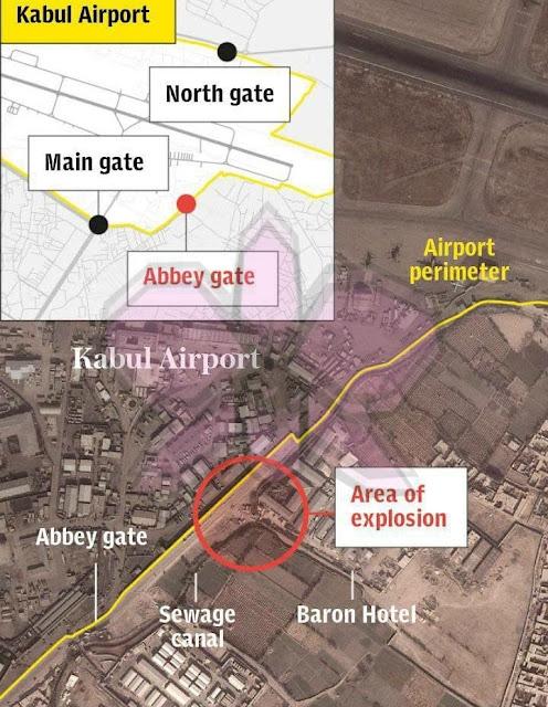2 Ledakan Bom di Dekat Bandara Kabul, 40 Orang MD Termasuk 4 Tentara AS, 100 Terluka.lelemuku.com.jpg