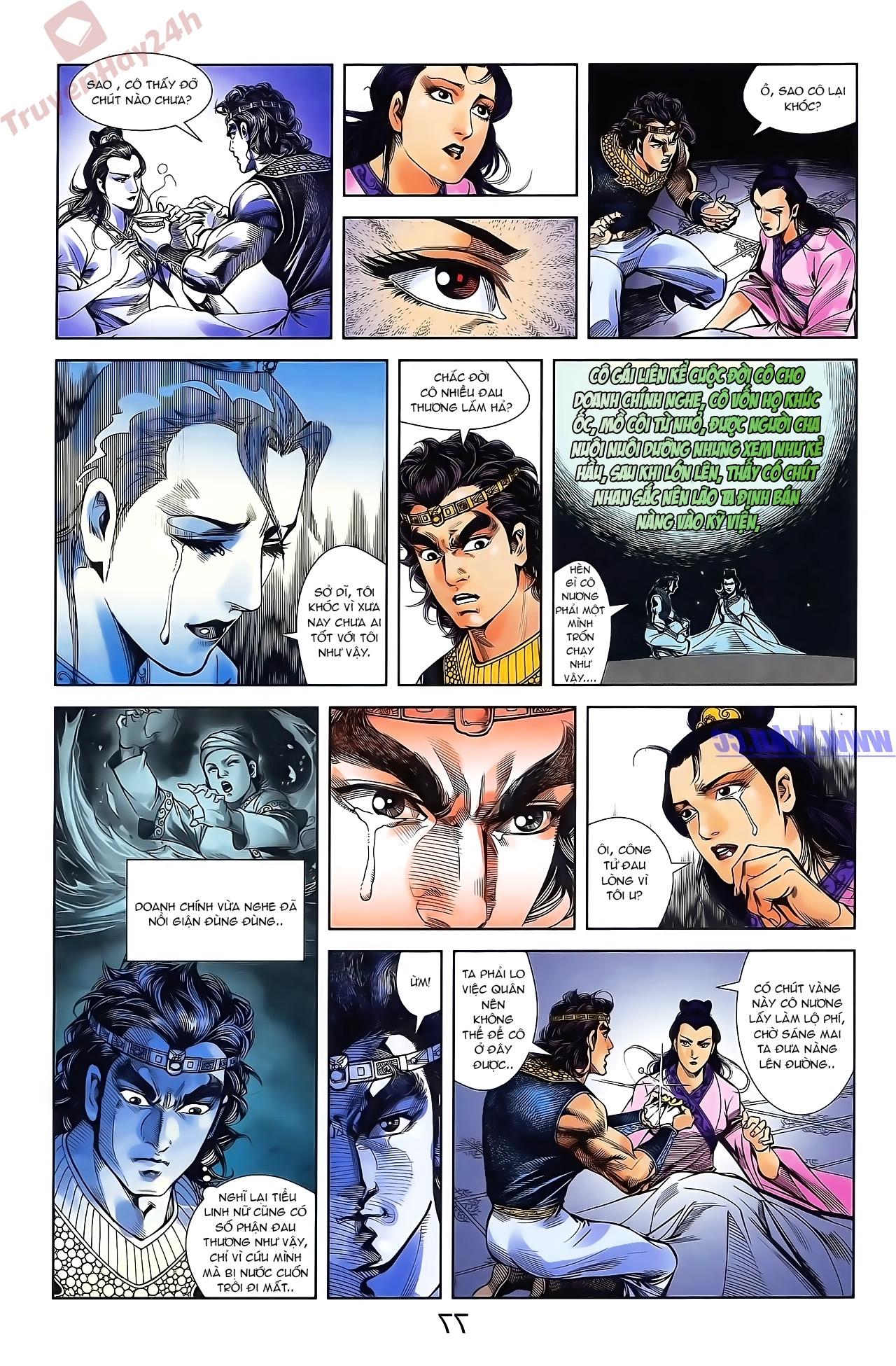 Tần Vương Doanh Chính chapter 47 trang 13