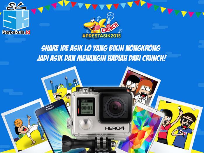 Kontes Prestasik Berhadiah GoPro Hero & 5 Gadget Android