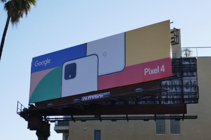 Google Pixel 4 billboard
