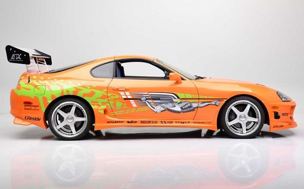 Toyota Supra Rápido y Furioso Paul Walker