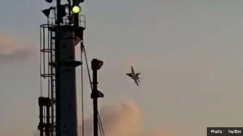 TNI AU Usut Viral Pesawat Asing Terbang Rendah di Atas Laut Natuna