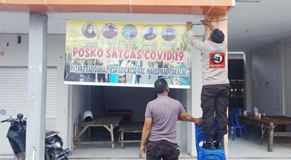 Dukung Prokes, Personil Polsek Marbo Aktifkan Posko Satgas Covid-19