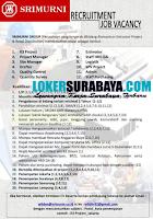 Lowongan Kerja di Srimurni Group Surabaya Maret 2020
