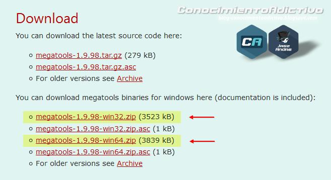 Megatools: Descargar de Mega nz desde un terminal y superar