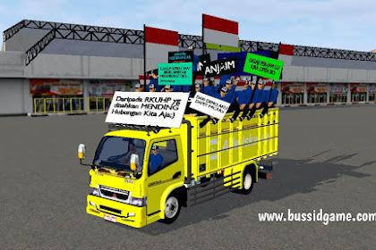Mod Truck Canter Muatan Demo By Ade Iskandar