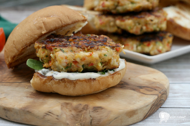 Grilled Shrimp Burgers