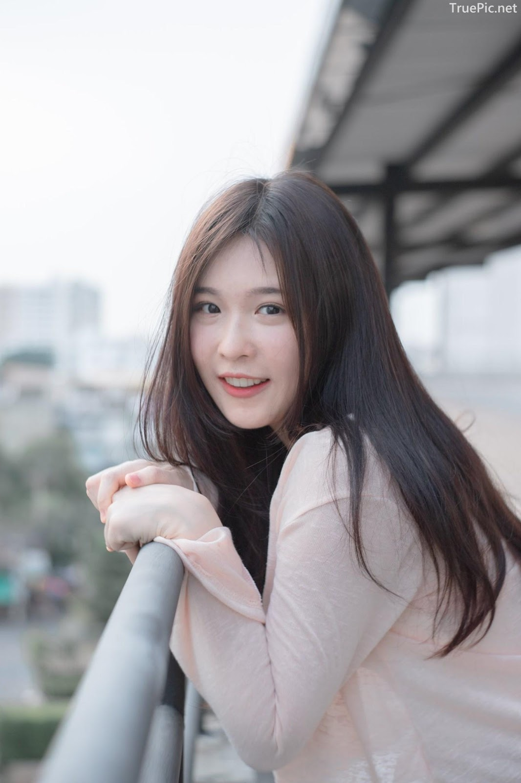 Thailand cute model Jelly Namjai (เจลลี่) - Beautiful angel in the city - Picture 10