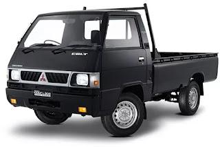 warna mitsubishi colt L300 - hitam
