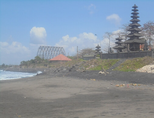 This temple is situated on the border of the estuary which is a mixing or coming together betwixt t BeachesinBali: Pura Campuhan Windhu Segara Padang Galak Kesiman, East Denpasar - Bali