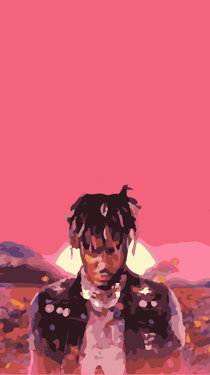 juice wrld legends never die wallpaper 2 trace art