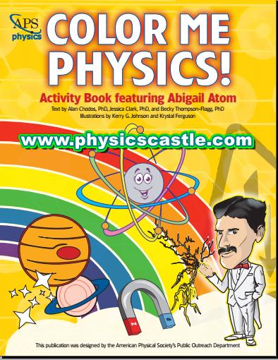 COLOR ME PHYSICS ACTIVITY BOOKS PDF|physicscastle
