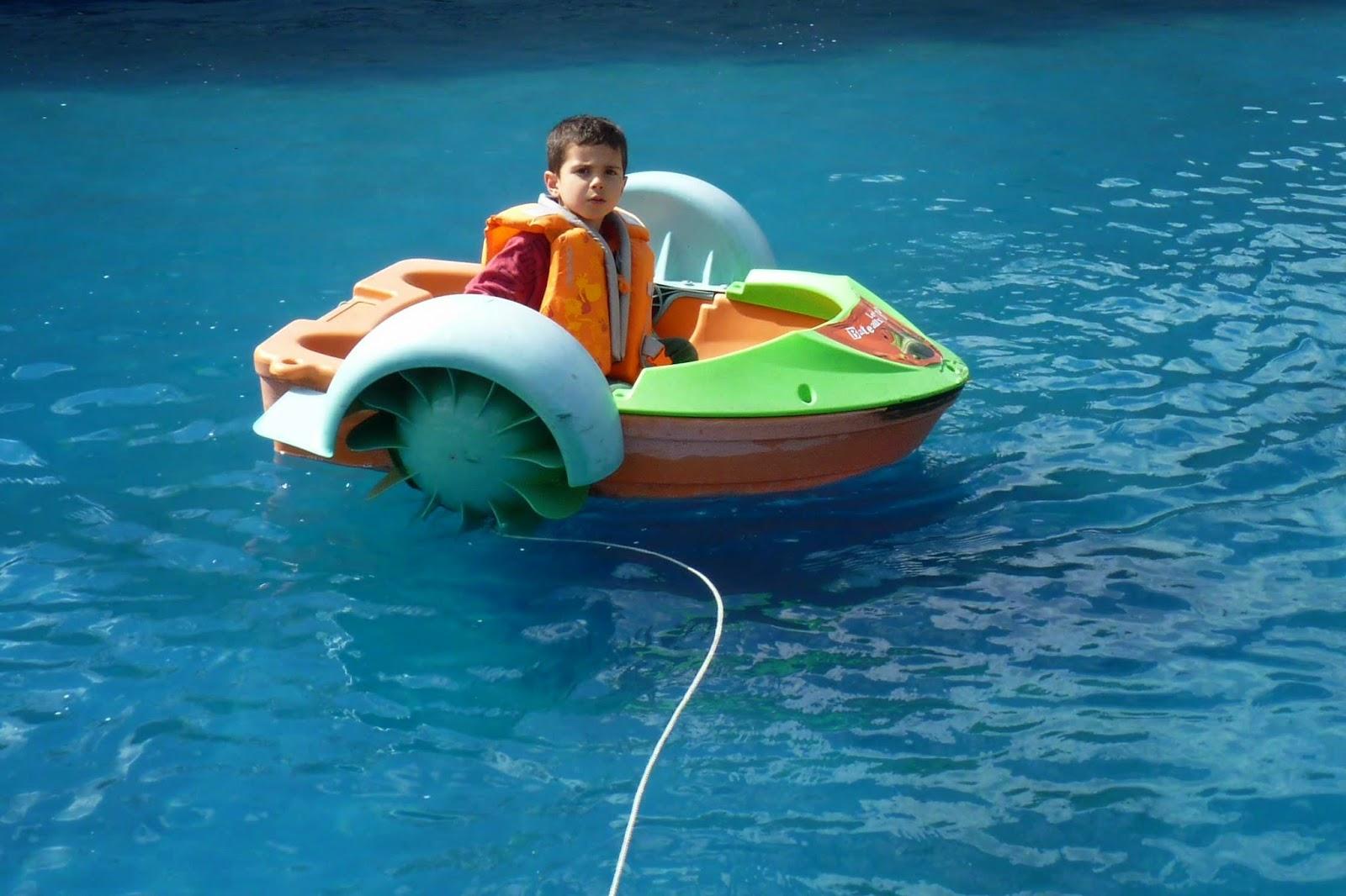 Los Barcos Locos del Mundo de los Niños.