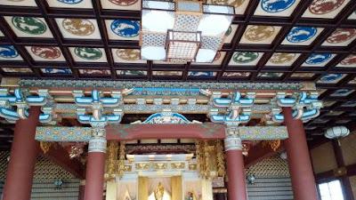 本堂の天井