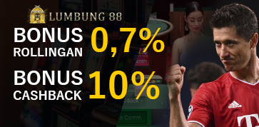 BONUS ROLLINGAN DAN CASHBACK 10%