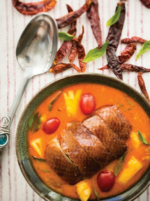 Red Curry with Barbecued Duck & Pineapple Recipe