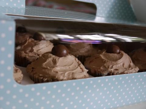 Malteser's Cupcakes