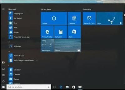 windows-start-full-screen-visible-offline-computer-trick