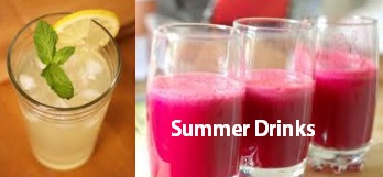 homemade summer drinks