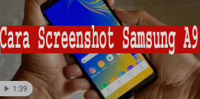 Cara Screenshot Samsung A9 1
