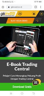 Cara Melakukan withdraw di broker Gkinvest.co.id