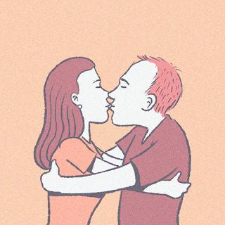 beijo na boca menino e menina