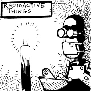 Newcastle Science Comic: November 2012