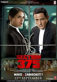 Download Section 375 (2019) Movie HDRip 1080p | 720p | 480p | 300Mb | 700Mb
