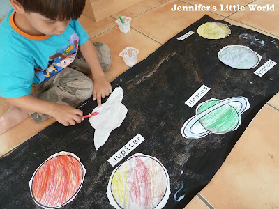 How to hold a space themed day for children