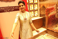 Samantha Ruth Prabhu in Cream Suit at Launch of NAC Jewelles Antique Exhibition 2.8.17 ~  Exclusive Celebrities Galleries 040.jpg