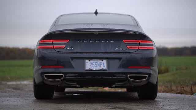 التصميم الخارجي لسيارة جينيسيس G80 2021