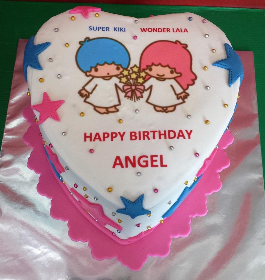 Yochanas Cake Delight Happy Birthday Angel