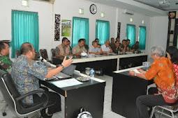 Kunjungi Korem 162/WB, Tim Pusat Badan Penelitian DPR RI Bahas OMSP termasuk Penanggulangan Bencana