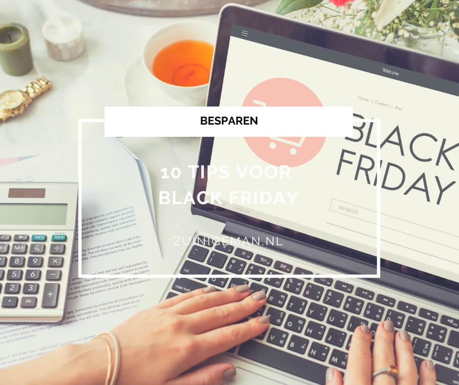 10 tips voor Black Friday