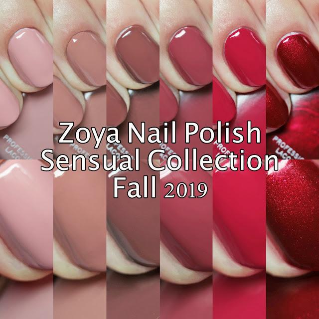 Zoya Nail Polish Sensual Collection Fall 2019 Sampler A