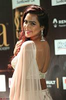 Prajna Actress in backless Cream Choli and transparent saree at IIFA Utsavam Awards 2017 0096.JPG
