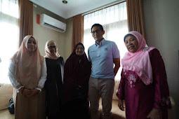 Sandiaga Salahuddin Uno Singgah ke Komplek Caltex Rumbai