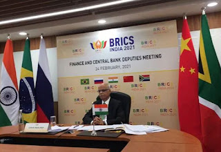 2021 BRICS FMs and Governors Meeting