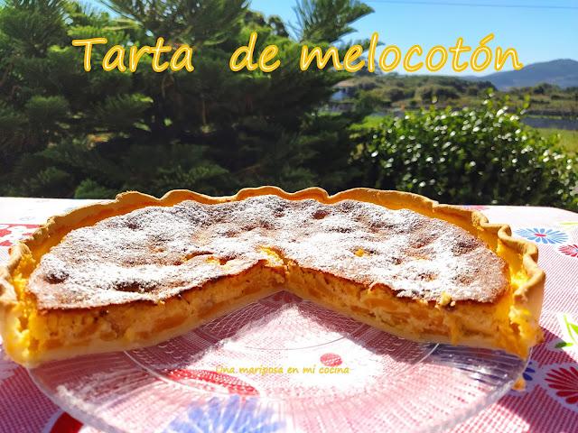 Tarta De Melocotón: