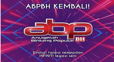 Keputusan Pemenang ABPBH 2018 Anugerah Bintang Popular Berita Harian