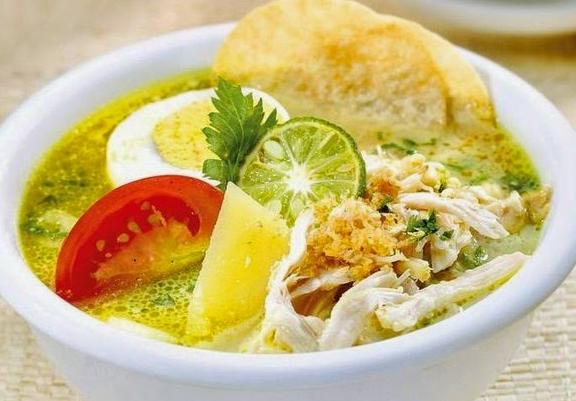 Resep Soto Ayam Kuah Santan Kuning