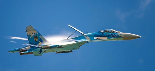 Су-27П бортовий номер 58 «синій»