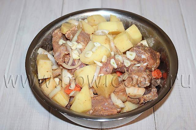 рецепт свиных ребрышек с картофелем в рукаве с пошаговыми фото