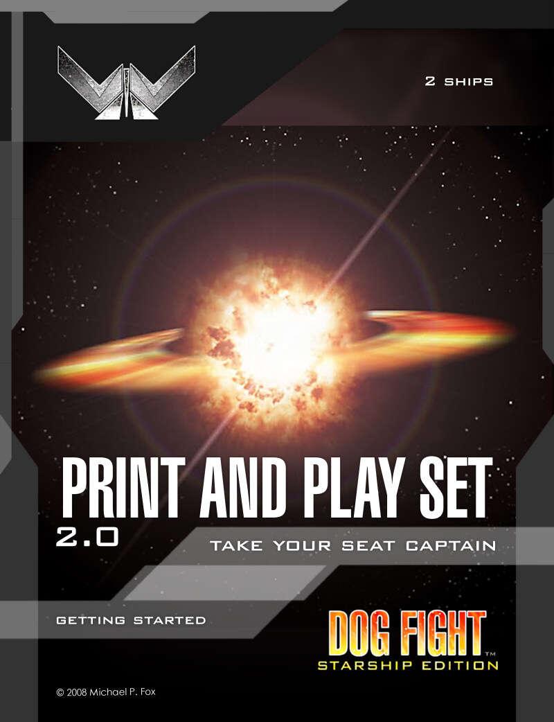 Dog Fight: Starship Edition Print and Play set