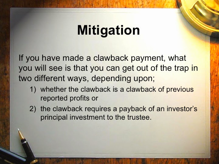 taxation of the clawback