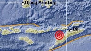 Gempa Magnitudo 5,1 Guncang NTT