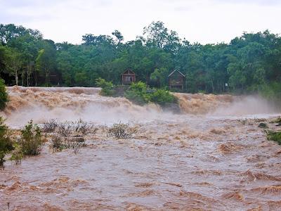 Tad Lo, Tad Hang and Tad Suong Bolaven Plateau falls in Laos