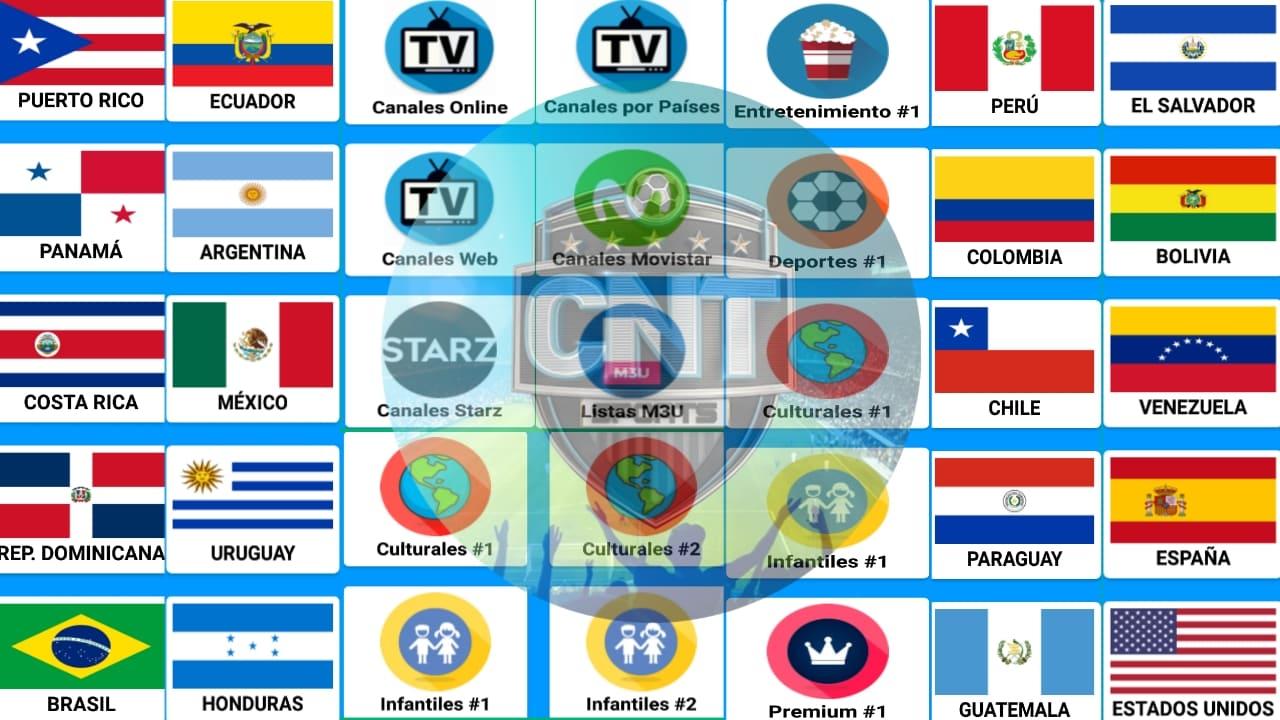 تطبيق القنوات اللاتينية الاول في عالم لاتينا المشفرة Cnt Sport