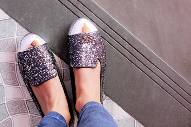 sapatilha com glitter - amiclubwear